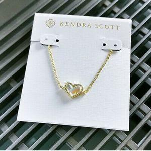 Nwot Kendra Scott Ari heart bracelet